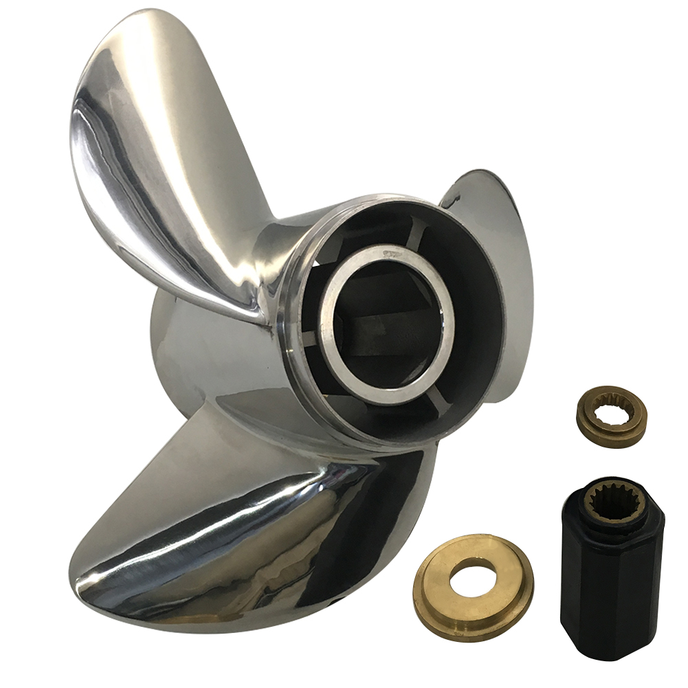 14 x 19 Stainless Steel Propeller For Honda Outboard Engine 115-250HP