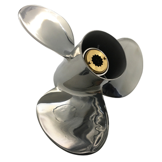 12 x 13 Stainless Steel Propeller for Mercury Mariner Outboard 25-70HP