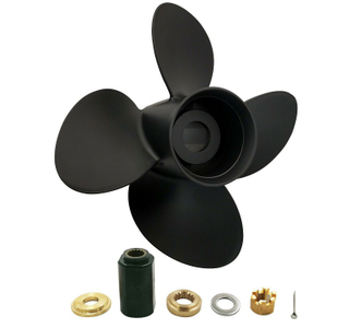 13 3/4 x 15 Aluminum 4 Blade Propeller For Evinrude Johnson Outboard 778738