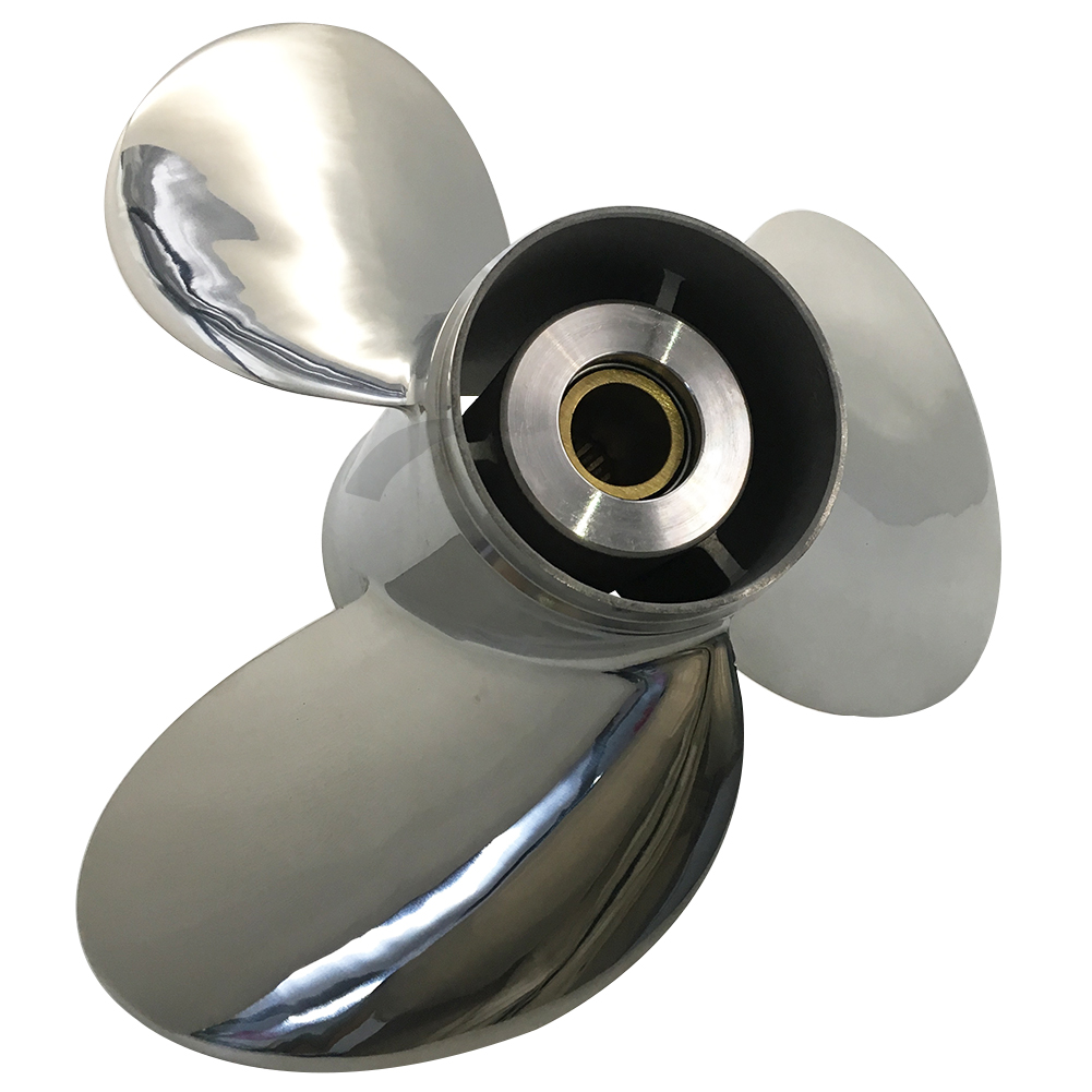 13 1/2 x 14-K Stainless Steel Propeller For Yamaha Outboard Engine 688-45932-60-98