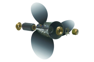 China High Performance Interchangeable Hub Kits Propellers for Mercury Outboard